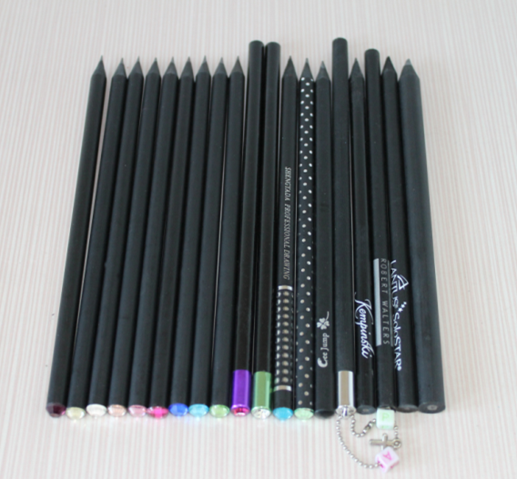 Wholesale Black Wooden Pencil