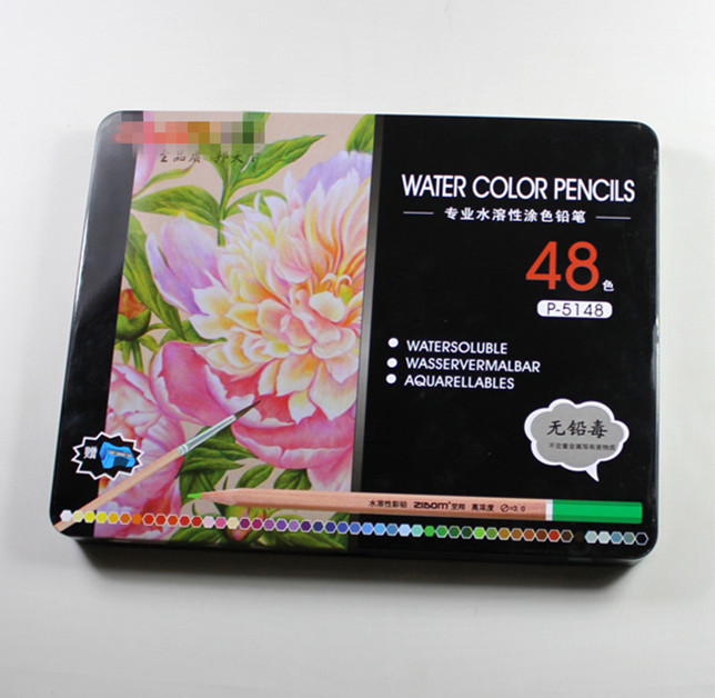 48 pcs Water Color Pencil