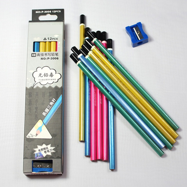 Triangle Sharpened Pencil with Dip End