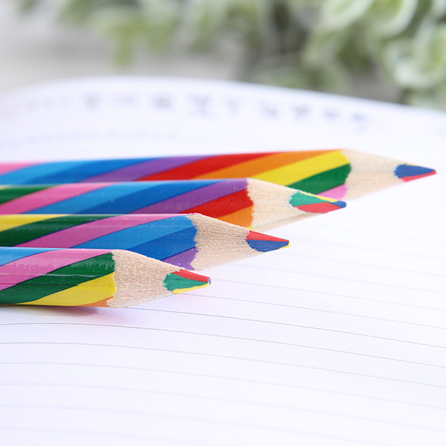wholesale multi-colour pencil